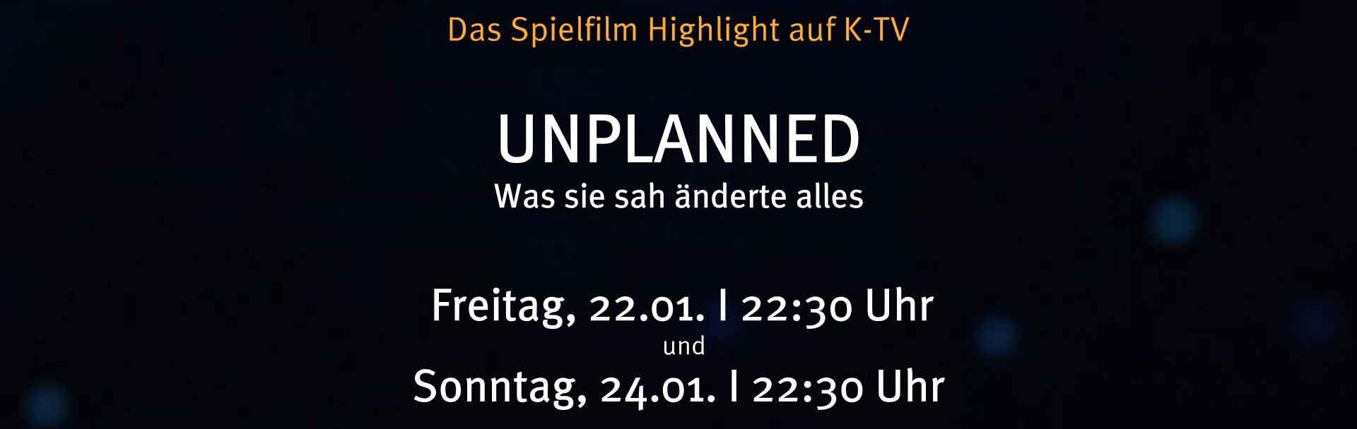 Unplanned - Der Film
