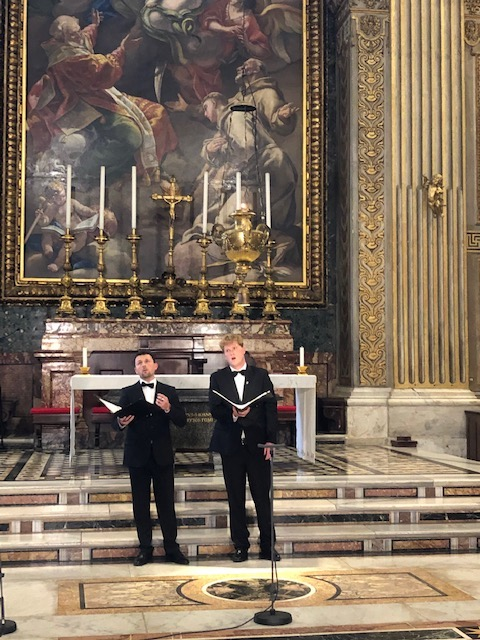 Passions- und Osterlieder für Sie aus dem Petersdom in Rom!
