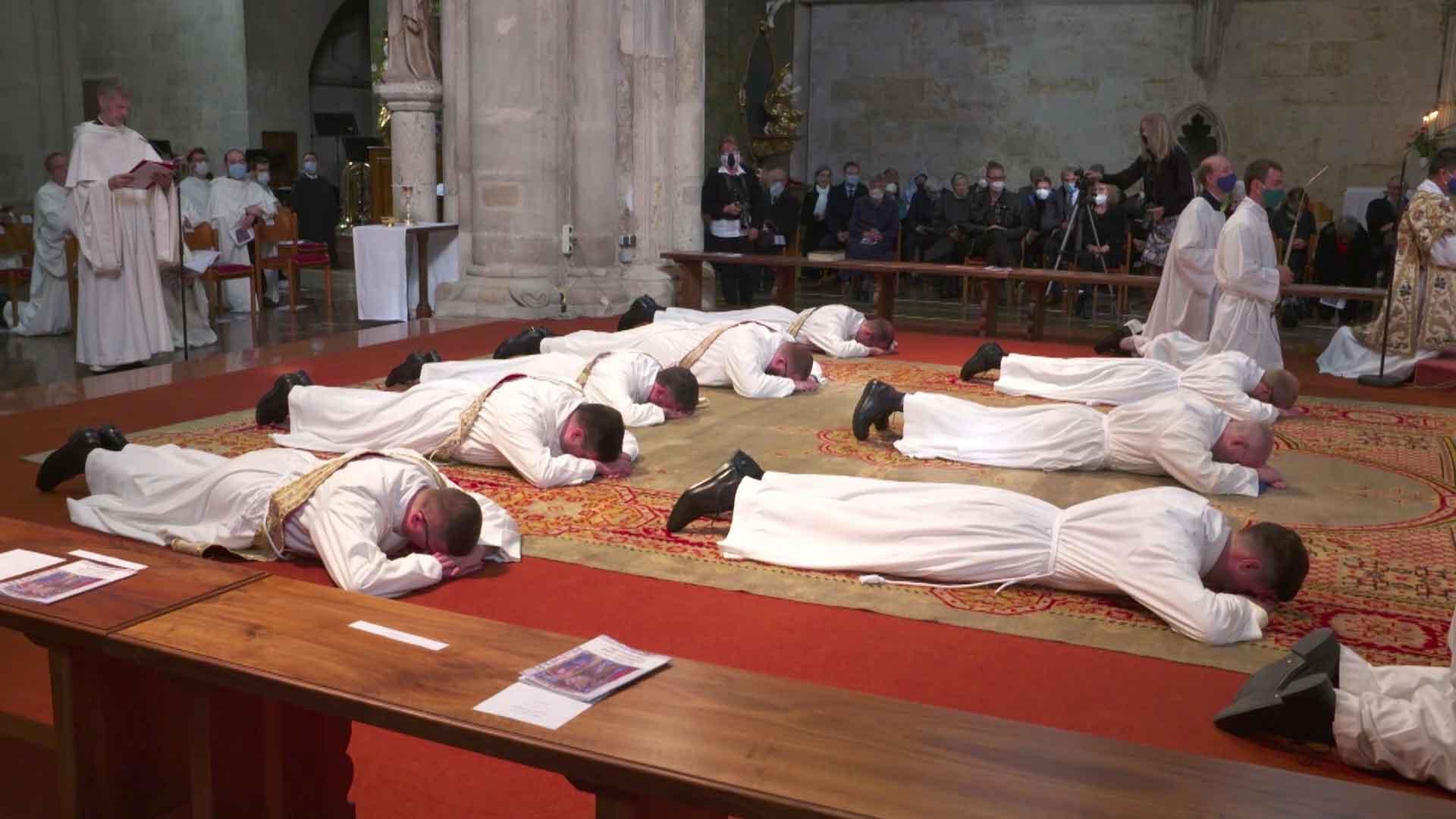 Priesterweihe aus Heiligenkreuz durch Kardinal Koch