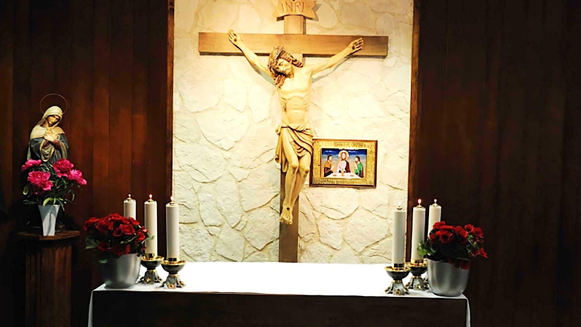 Heilige Messe aus der Kapelle des Zentrums Johannes Paul II. in Wien