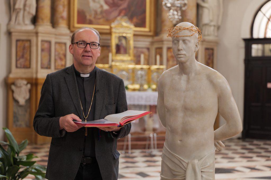 Bischof Hermann Glettler Ecce Homo Mark Wallinger