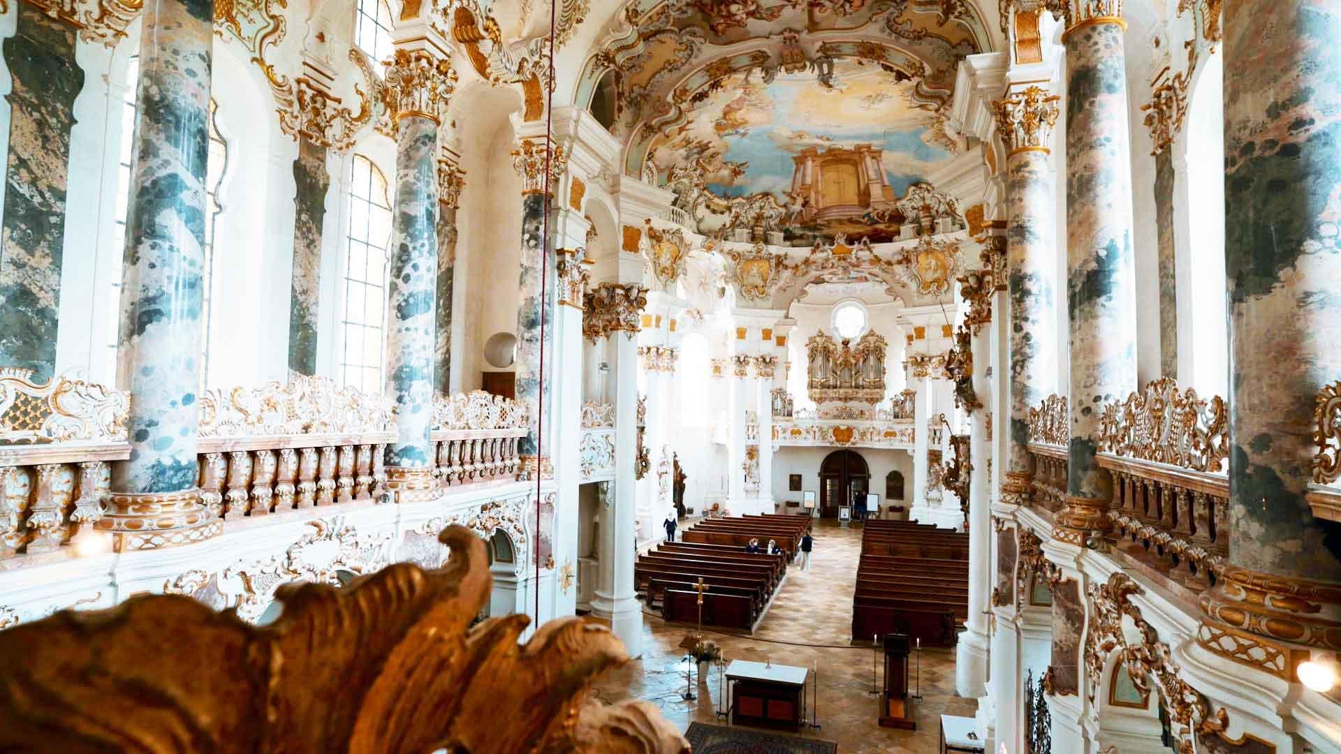 Pontifikalamt aus der Wieskirch mit Bischof Bertram Meier