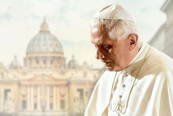 Benedikt XVI. Der emeritierte Papst.
